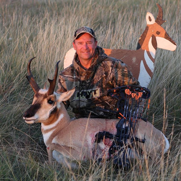 2016 Alberta archery antelope taken with Hoyt Carbon Defiant