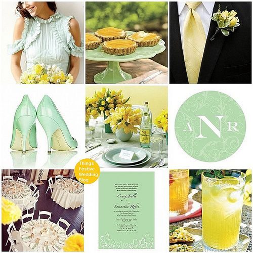 152 best spring wedding themes images on pinterest spring wedding mint and yellow wedding theme junglespirit Choice Image