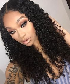 Deep Wave Brazilian Human Hair Wigs Deep Wave 4×4 Top Lace Closure Wigs Human Hair Pre Plucked Natural Color Wig For Black Women