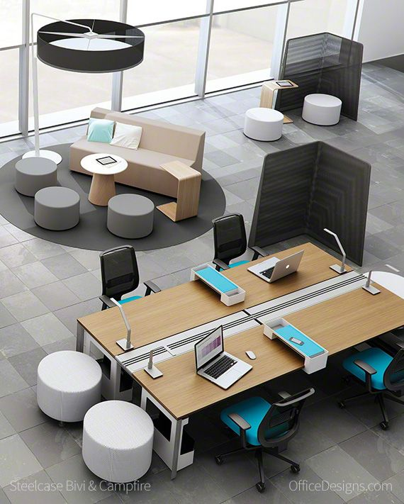 Have you seen the Turnstone Campfire collection from Steelcase? Trick question, you're looking at it right now.