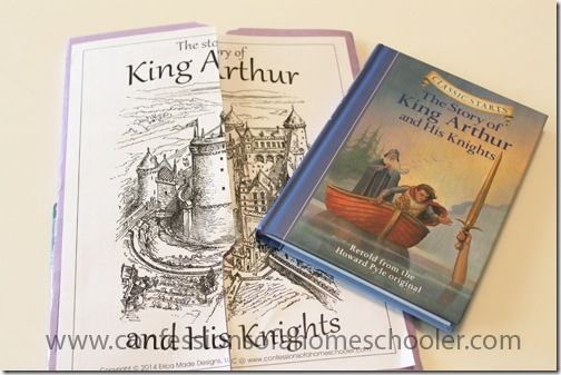 King Arthur and his Knights Unit Study