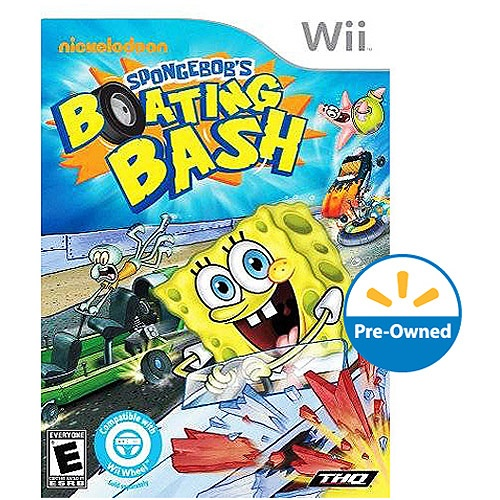 Sponge Bob: Boating Bash (Wii)