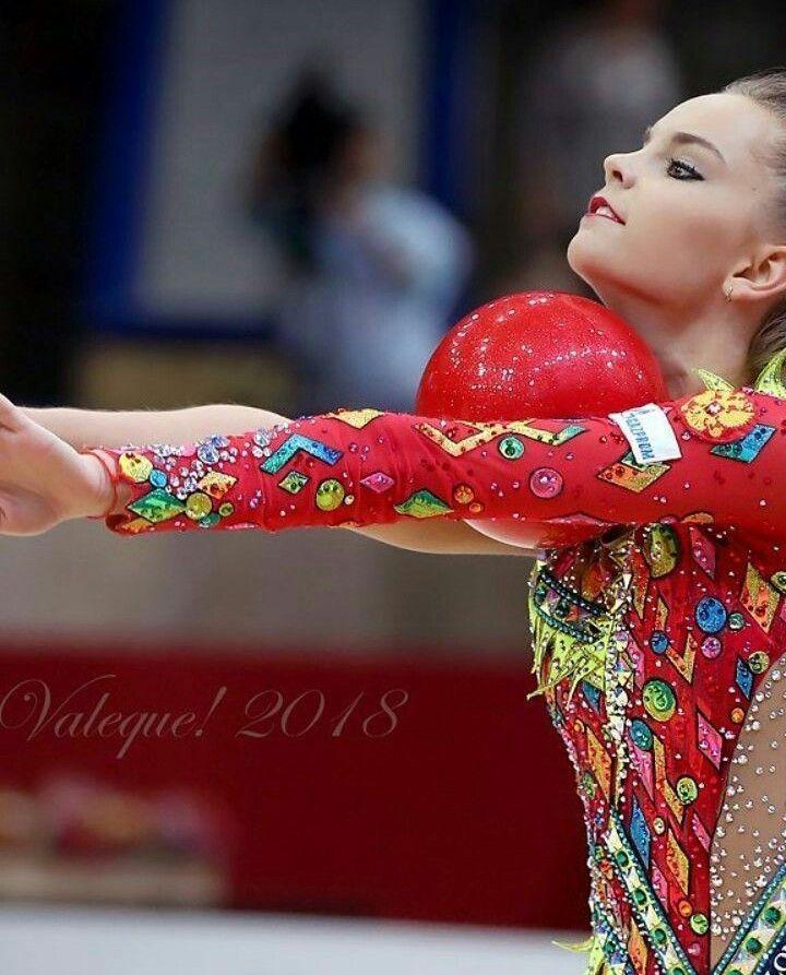 Dina Averina Grand Prix Moscow 2018 ball