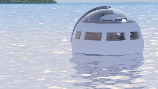 In deze drijvende hotelkamers slaap je op het water en onder de sterren