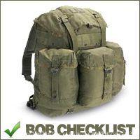 I.N.C.H. Survival | Bug Out Bag Checklist