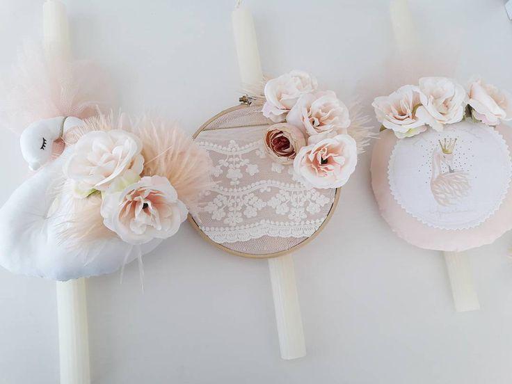 #eastercandles #pastelflowers #swan #todayilove #showroom #luxurybabygifts ♡