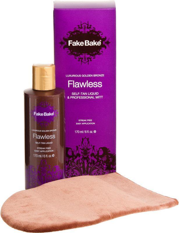 Fake BakeFlawless Self-Tanning Liquid %26 Professional Mitt