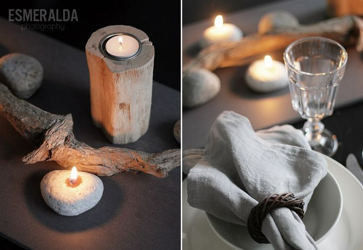 Natural Table Setting - Esmeralda's