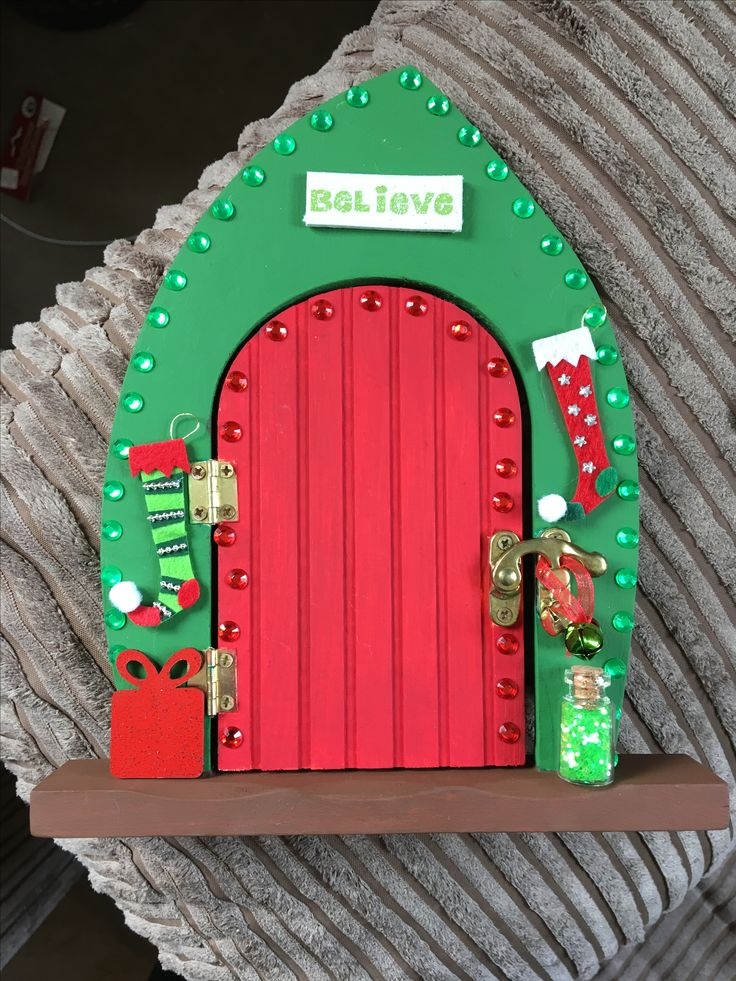 1000 Ideas About Elf Door On Pinterest Polymer Clay