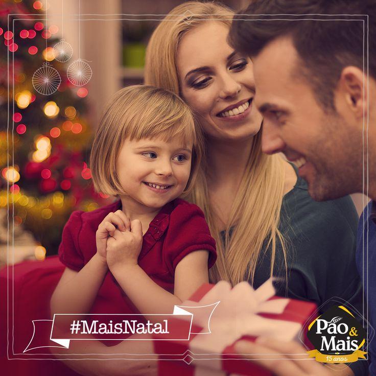 O Natal é tempo de perseverança, de união. Tempo de consolidação de laços. Use a hashtag #MaisNatal e divida com o mundo a magia do Natal.