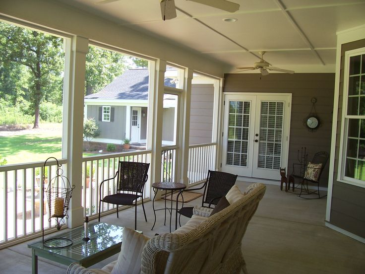 New Turn Porch Into Sunroom
