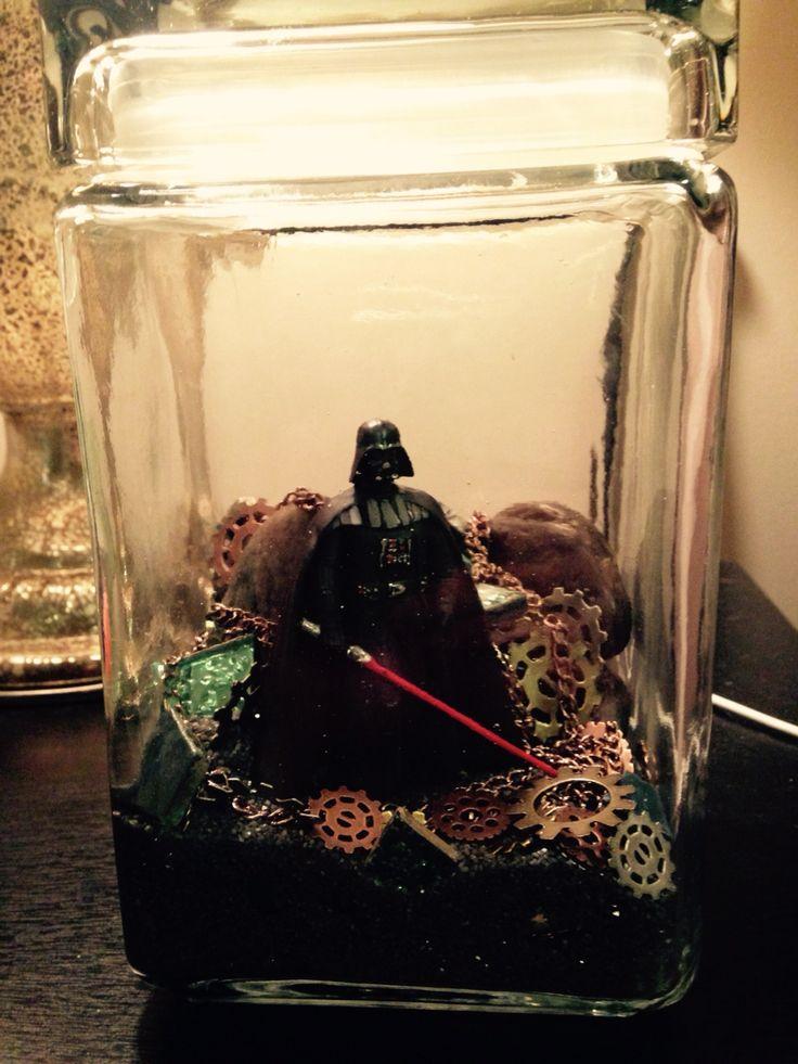Darth Vader Terrarium Starwars Crafty Star Wars