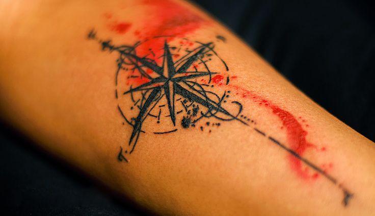 Wind Rose tattoo