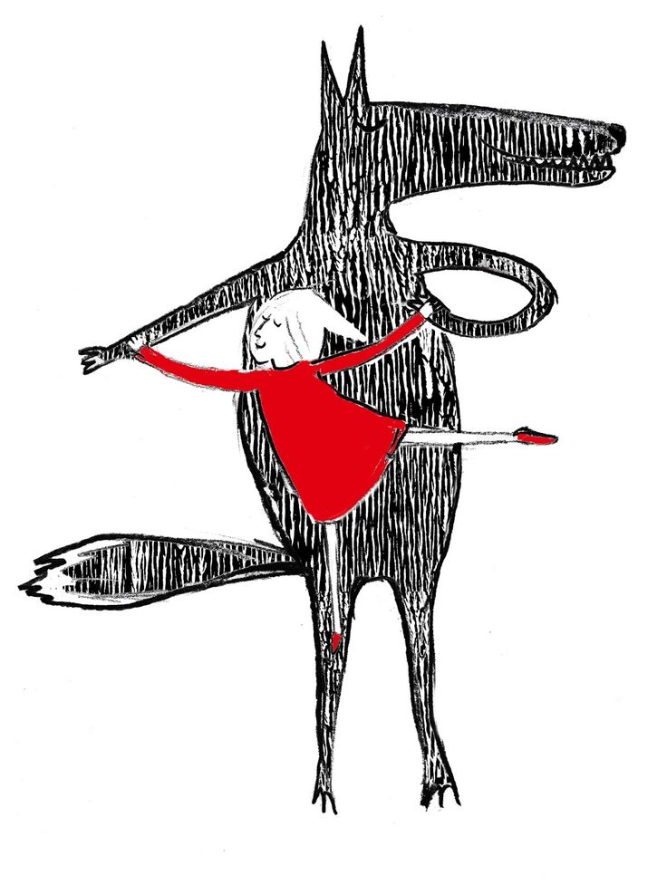 Little Red Riding Hood and Other Wolfish Things: Dance me to the end of love . . .