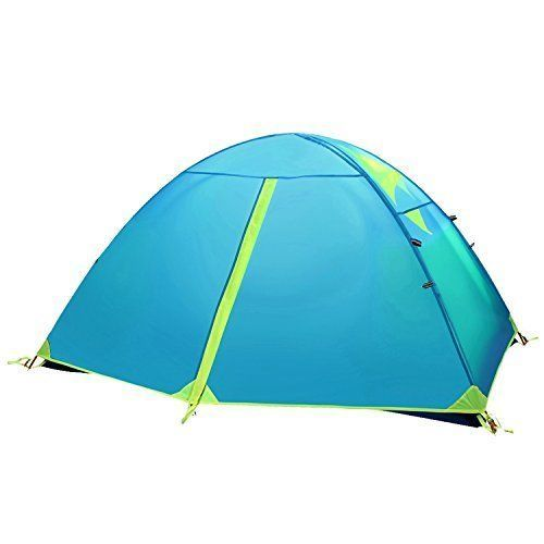 Introducing Camp Solutions  2 Person Tent Double Layer 3 Season 2 Skylight Outdoor Camping Tent 5 LB 23 KG. Great product and follow us for more updates!