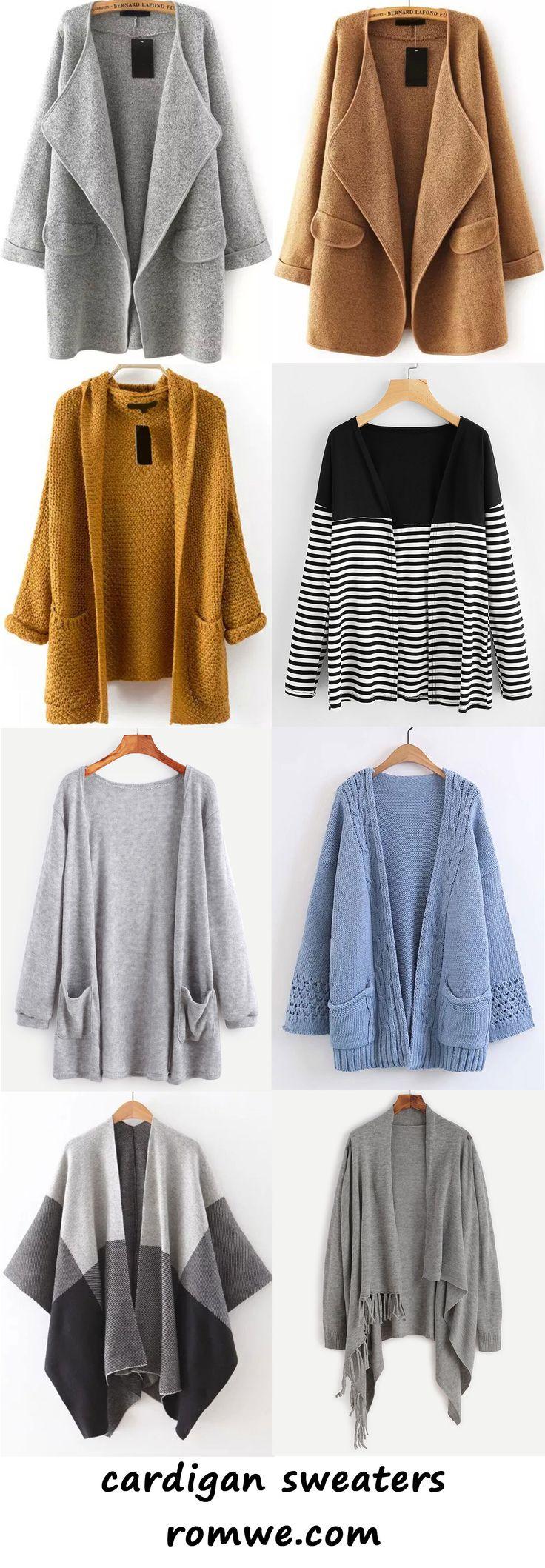 cardigan sweaters 2017 - romwe.com