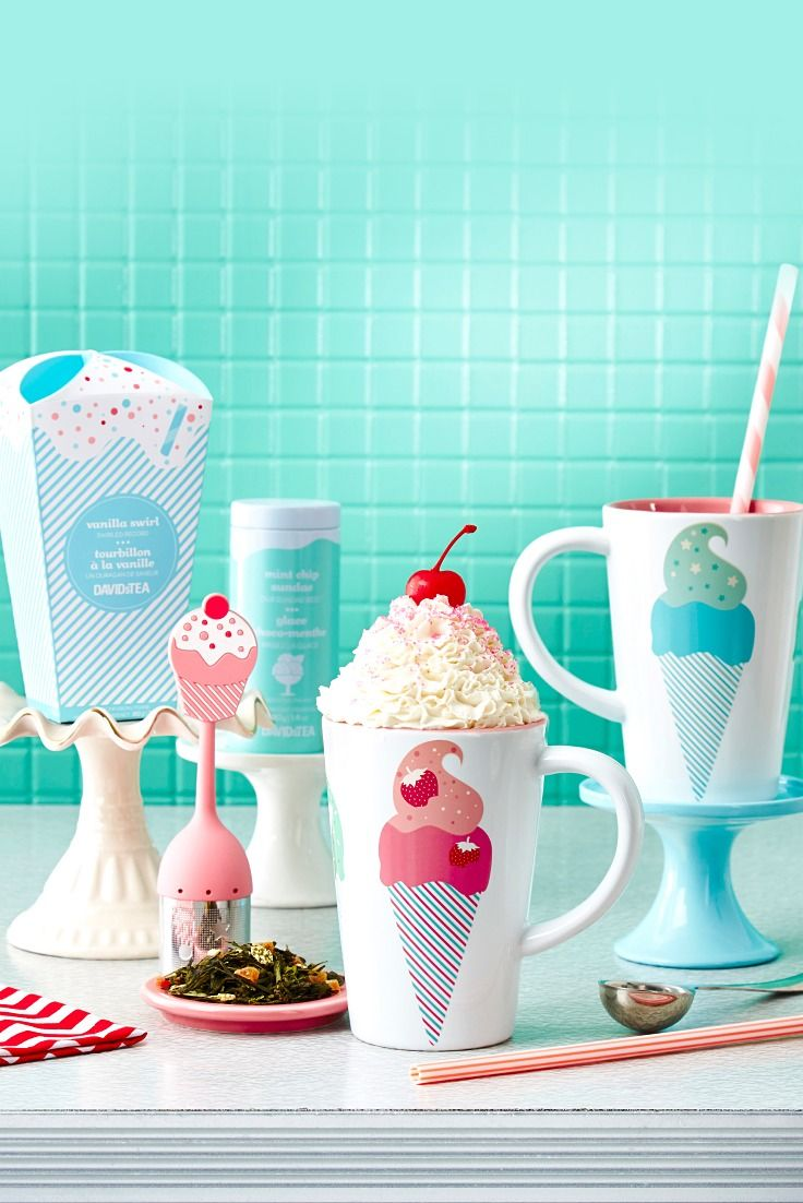 Take a trip to the Malt Shop with our ice cream-inspired teas.