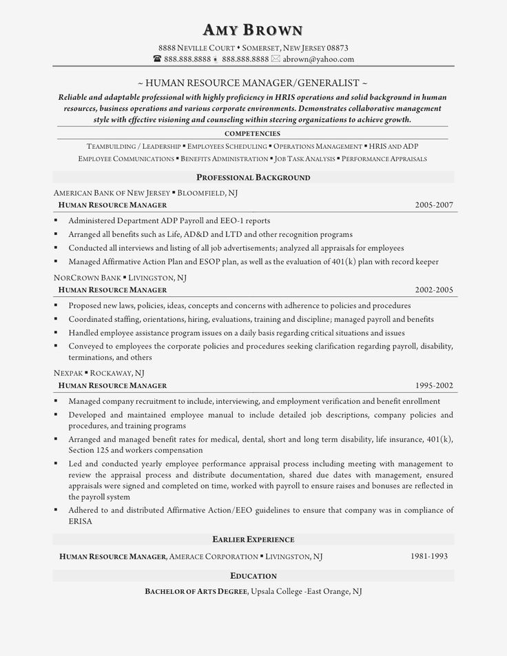 resume template ats Professional in 2020 Human resources