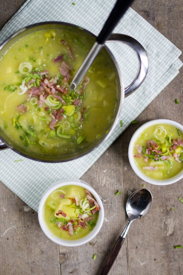 Preisoep, een heerlijke maaltijdsoep. Via Brenda Kookt.nl