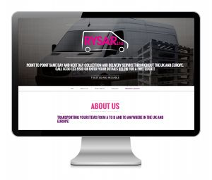 Rysar Couriers new website