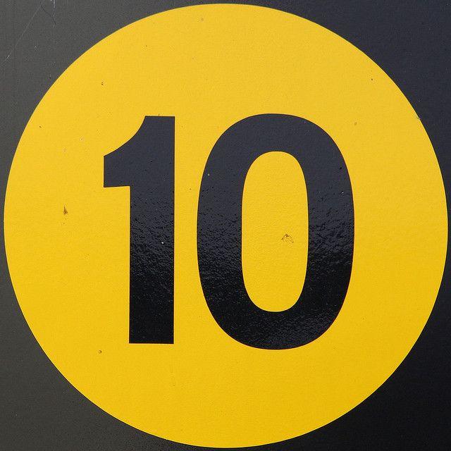 number 10 by Leo Reynolds