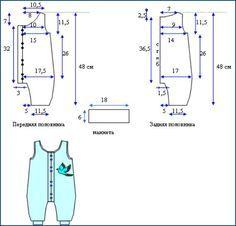 Текстильные фантазии и не только: Одежка для малышей - ползунки, чепчики, штанишки (выкройки)