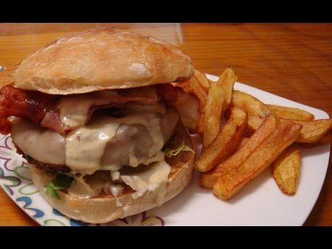 salsa de bacon para hamburguesa casera - YouTube