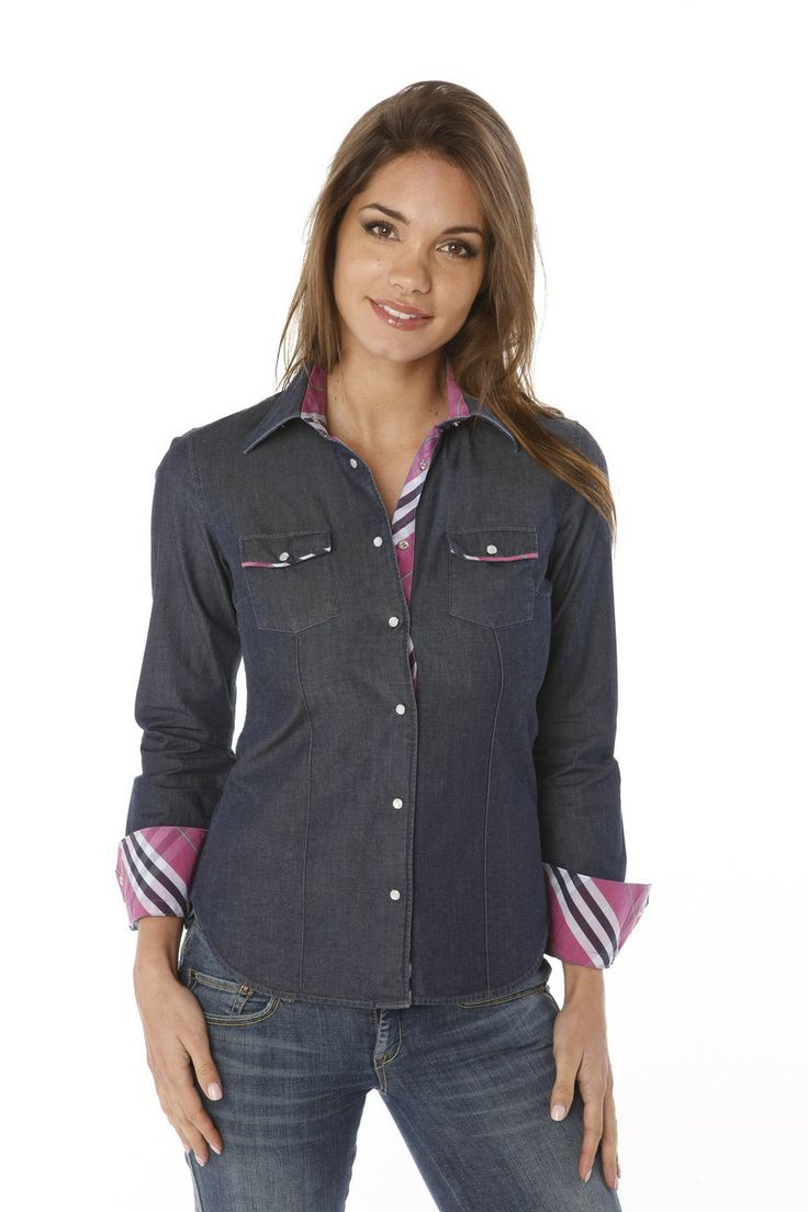 66 best chemises femme images on pinterest shirts blouses and long dress patterns - Porte chemise dressing ...