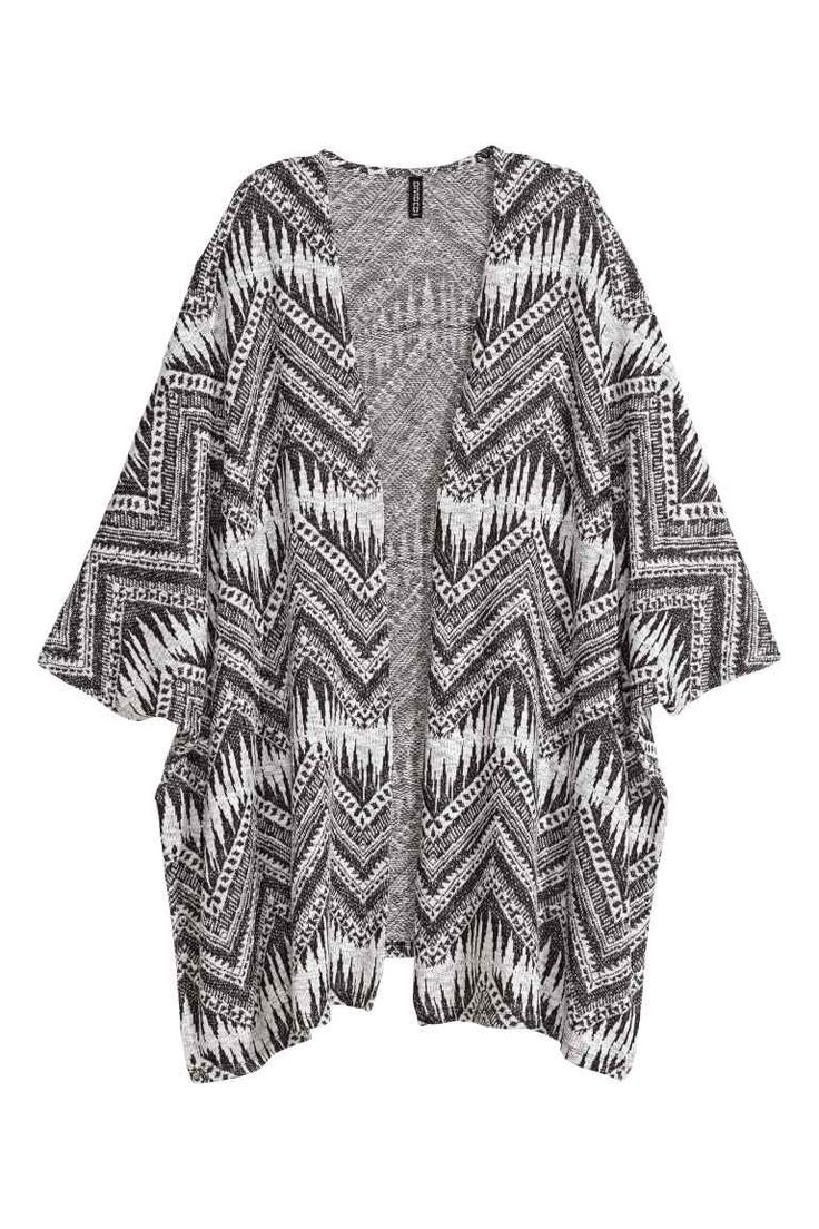 Pattern-knit cardigan | H&M