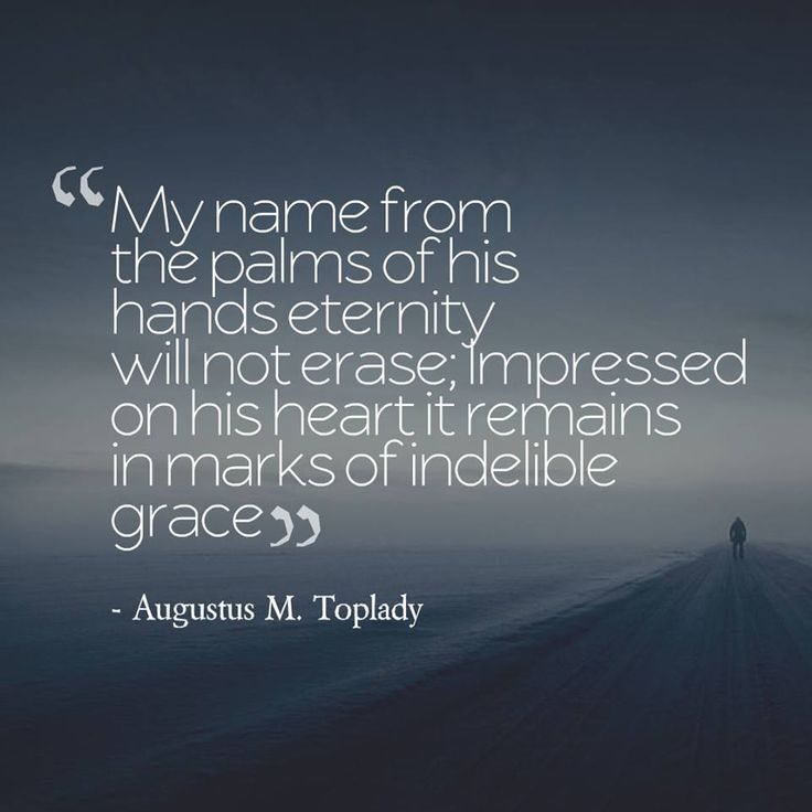 "Augustus Montague Toplady (1740 –1778) was an Anglican cleric and hymn writer. He is best remembered as the author of the hymn ""Rock of Ages"". Toplady initially followed Wesley in supporting Arminianism. In 1758, however, the 18-year-old Toplady read Thomas Manton's seventeenth-century sermon on John 17 and Jerome Zanchius's Confession of the Christian Religion (1562). These works convinced Toplady that Calvinism, not Arminianism, was correct."