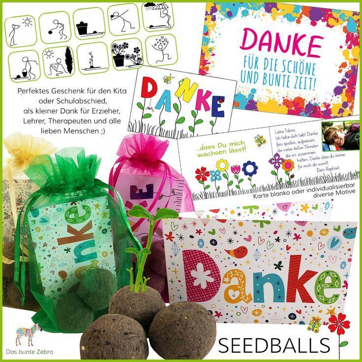 Seedballs Tolles Geschenk Fur Den Kita Abschied Schulwechsel