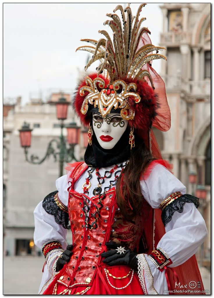~Carnival 2011: Red Pirate, Venice, province of Venezia, Veneto~