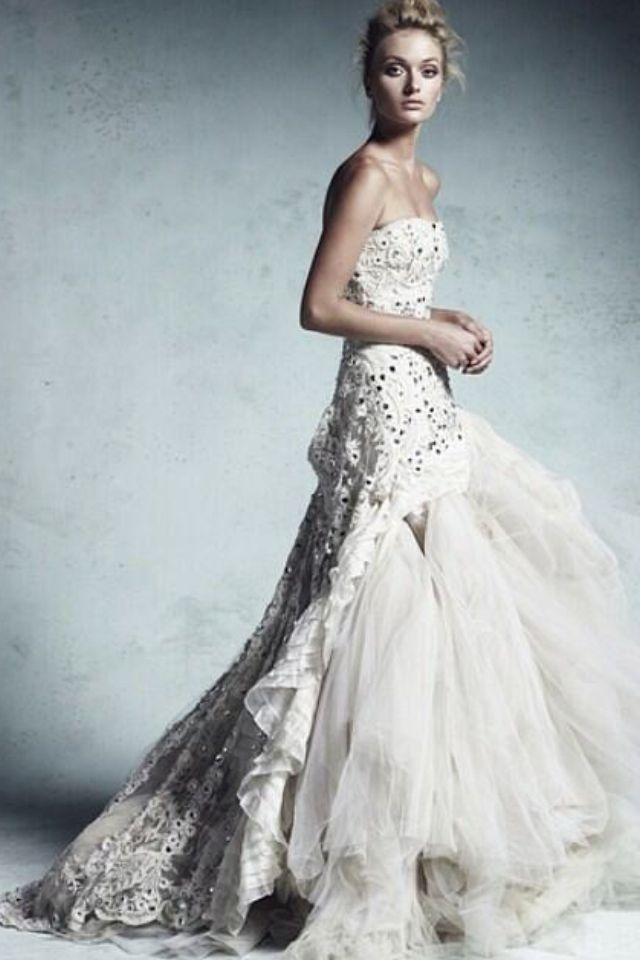 Collette dinigan wedding gown