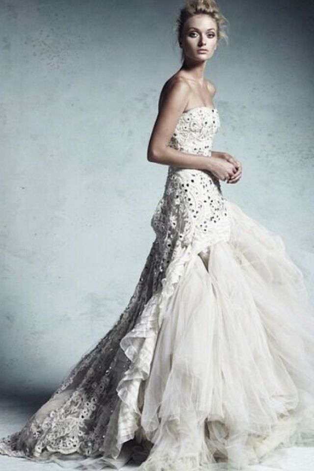 Collette dinigan wedding gown
