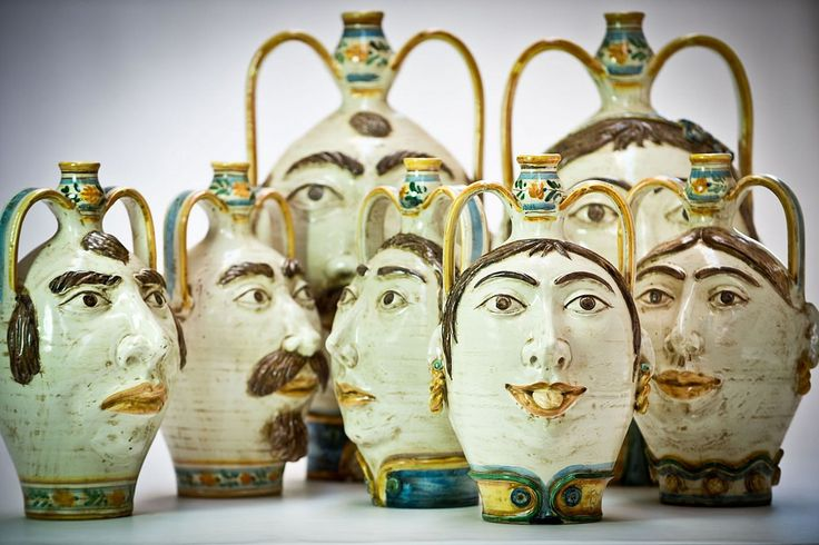 Ceramiche Morales from Caltagirone, Sicily #madeinsicily