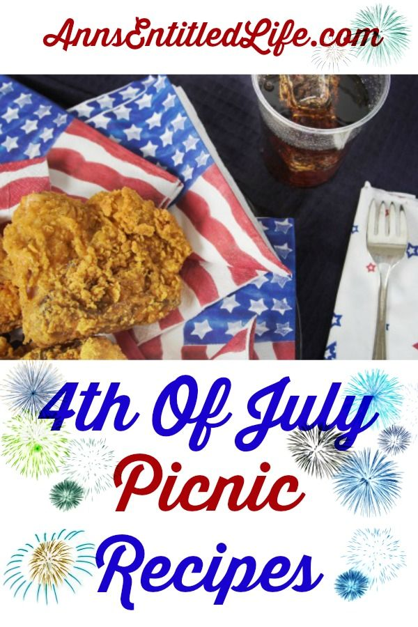 4th of july potluck desserts