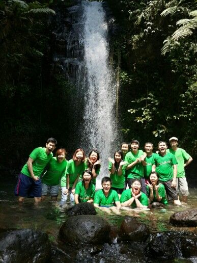Curug water fall