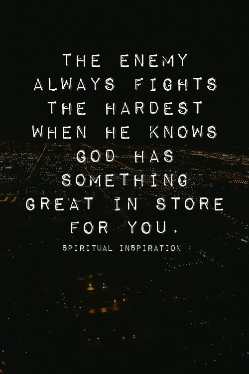 spiritualinspiration:  It's one thing to know that you're going into a challenging season. You get prepared for it. You get mentally ready. But what about the difficulties that we don't see coming? The unexpected crisis that catches us off-guard? Sometimes, it can seem so overwhelming that it almost knocks the wind right out of us.   The Scripture says that we shouldn't be surprised by fiery trials. That's because the forces of darkness would not be fighting against you if they didn't know…