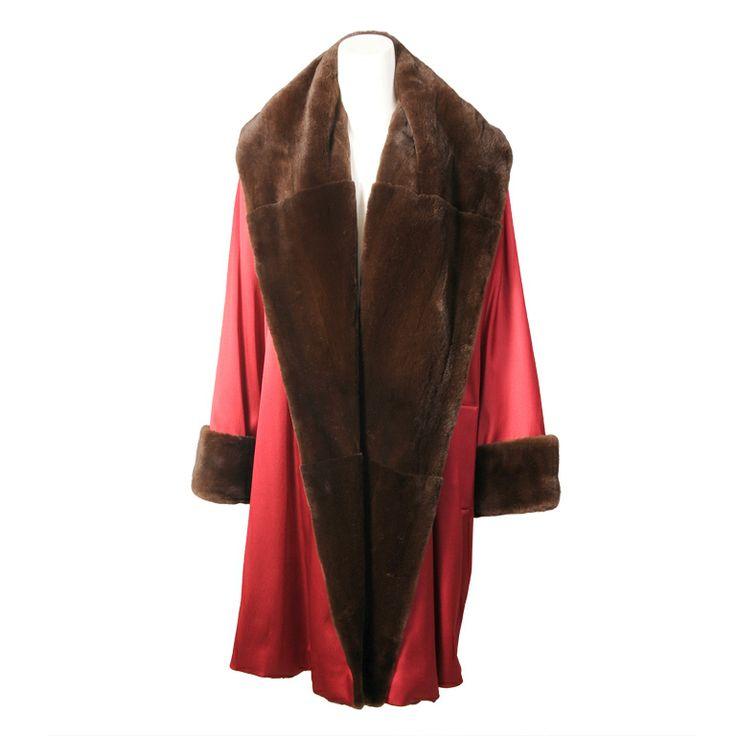 Louis Dell'Olio Sheared Mink Coat