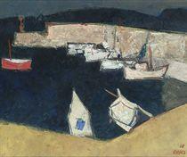 Wim Oepts: A mediterranean harbour