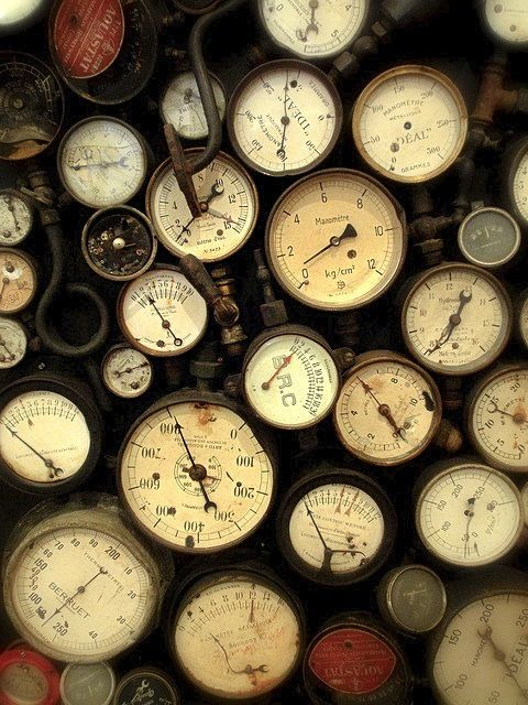 clocks and gauges love