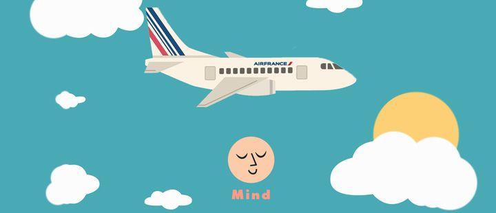 AIR FRANCE - KLM: Air France lanza su programa de meditación a bordo, en colaboración con la aplicación Mind #SantiagoElegante_Airfrance #SantiagoElegante #SantiagoElegante_KLM #ViajesyTurismo   #Vitacura
