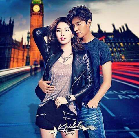 Suzy and Lee min ho