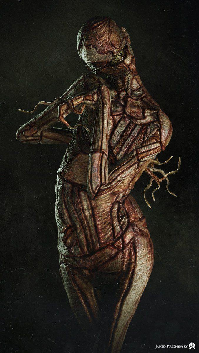 """Концепт-арт Скрюченного Человечка для фильма """"Заклятие 2"""" - 04"""