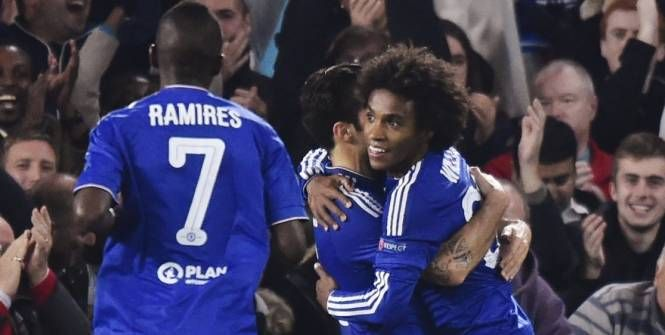 Ligue des champions : Willian (Chelsea) a rejoint Juninho