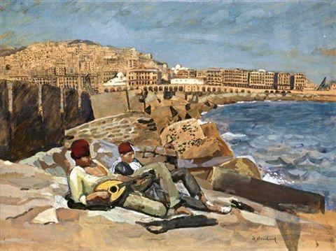 1283 best images about Peinture: Afrique du Nord, Algérie, Maroc, Tunisie on Pinterest | Auction ...