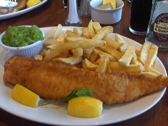 Harry Ramsden's serve the same great quality fish and chips today that they have been since 1928. The brand was established 80 years ago, when Harry Ramsden opened his first takeaway store in a hut in Guiseley. #uk #food