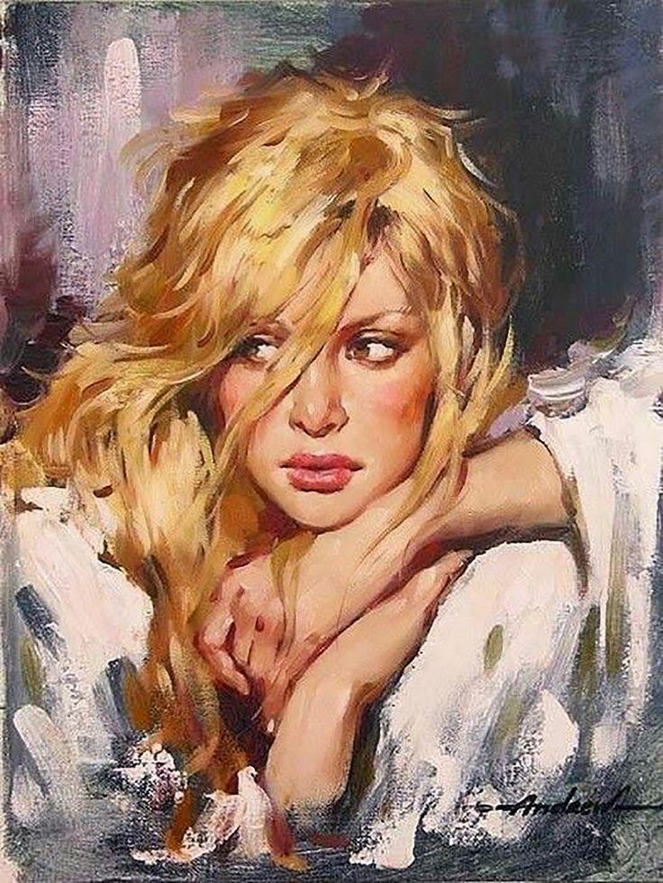 Pintura al óleo de Andrew Atroshenko