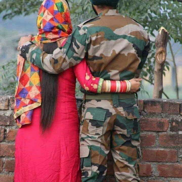 Indian Army Lovely Pictures Army Girlfriend Pictures Indian Army Wallpapers Army Couple Pictures Army wallpaper hd download love