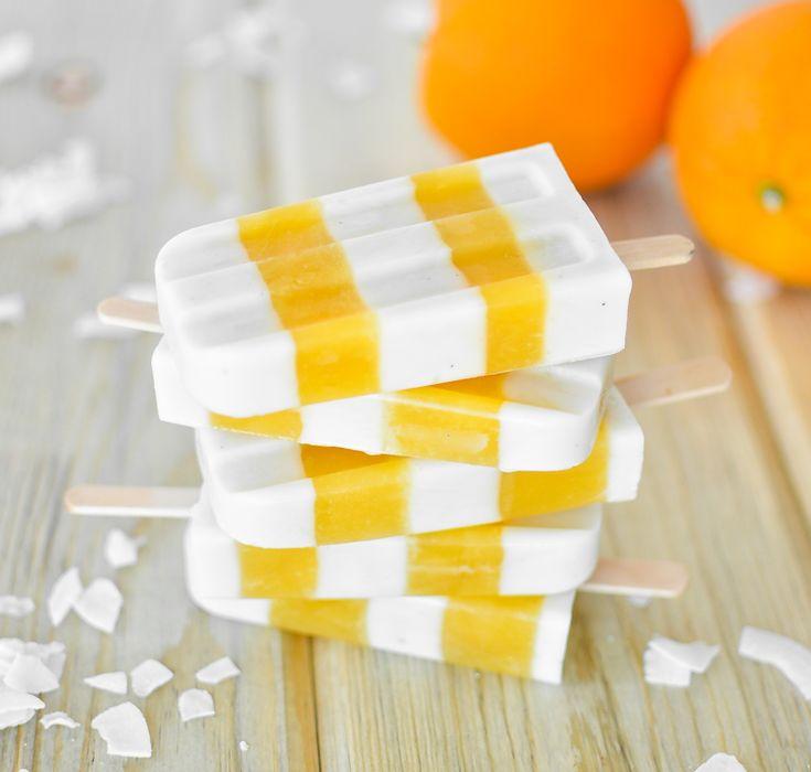 Orange Coconut Creamsicles